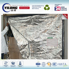 Thermal insulation 20' GP containers' liner material for coolers
