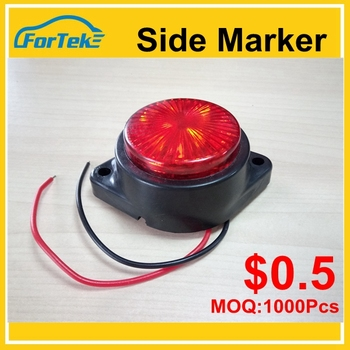 Hot sell led truck light 6led colorful led light bar truck with E-Mark