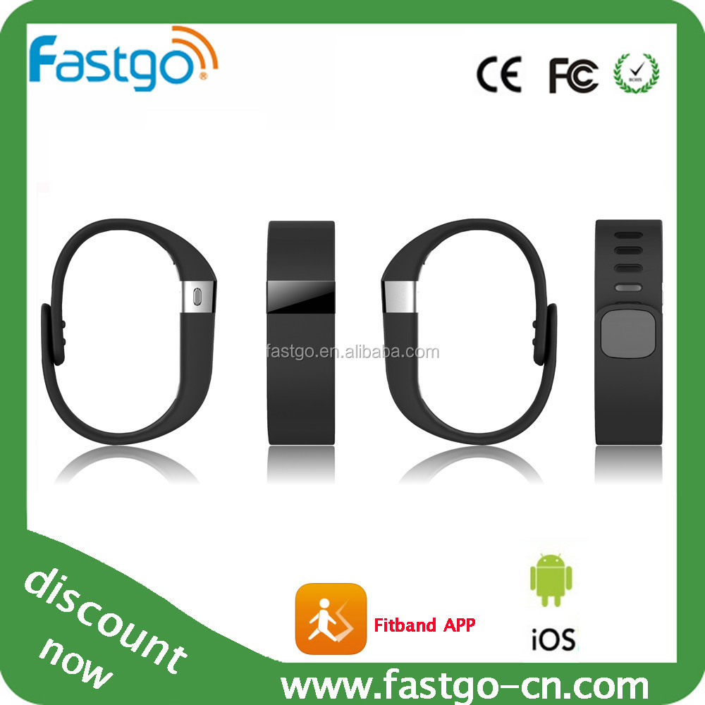 2015 Top selling smart bracelet health sleep monitoring& silicone vibrating wristband bracelet