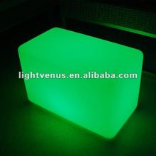Remote Controlled Color Changing Living Room LED Cube Chair