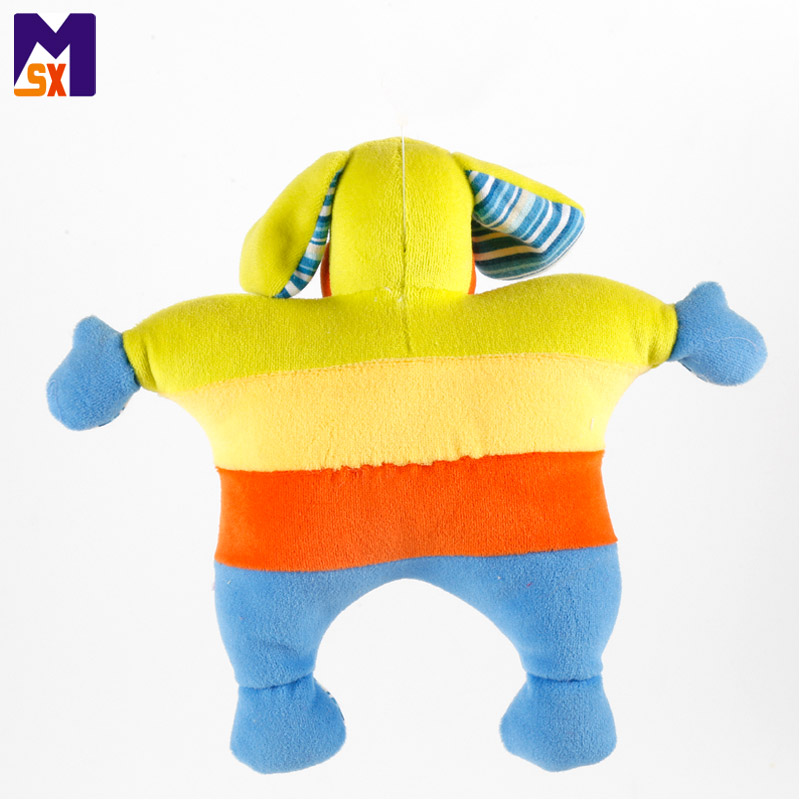 Wholesale 2018 custom plush dog toy baby bed hanging toy