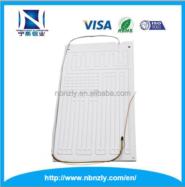 Home appliance industry Aluminum Roll Bond Evaporator