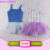 2017 Gymnastics Stage Dance Wear Cute Dress costume children Kids Camisole Ballet Tutu Skirted dance floral tutu dress leotard