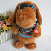 Plush Electronic Music Puppy Soft Toy for babies