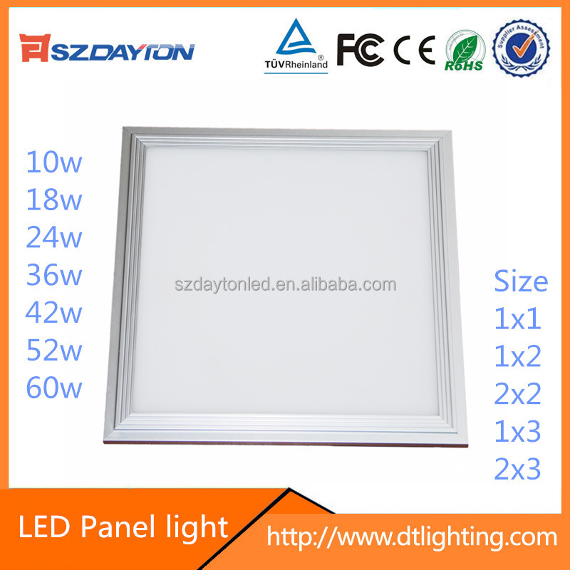 Shenzhen Manufacturers AC90-305V suface mounted smd 2835 flat panel led lighting 10w 20w 30w 60w
