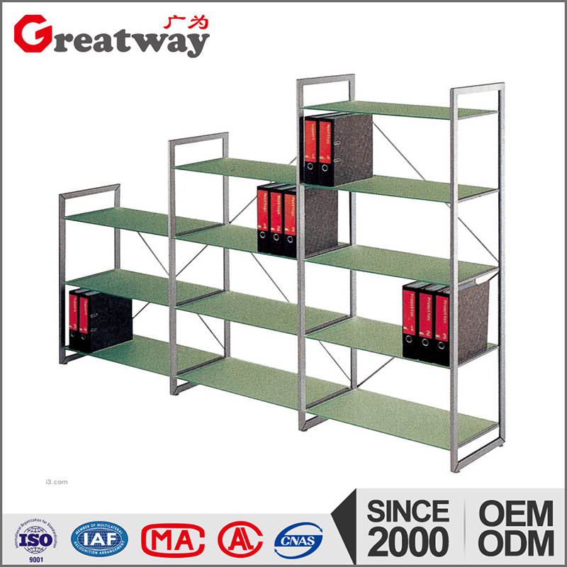 Modern school furniture design meatal used library bookcases