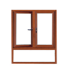 European standard double glazed aluminum casement window