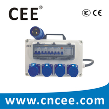 CEE Industrial Power Distribution Board, plug socket combination units, OEM & ODM