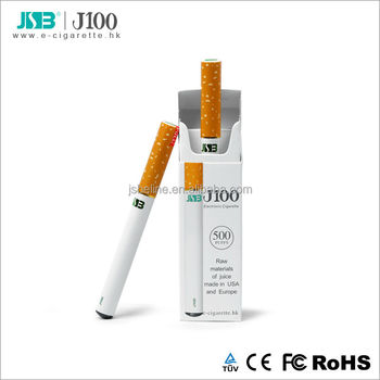 2014 Best Selling Menthol Electronic Cigarette Shenzhen JSB J100 Disposable E-cigarette with CE and ROHS