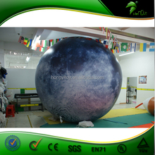 Giant Inflatable Balloon, Inflatable Moon Balloon, Inflatable Planet Balloon For Advertising / LED Light Inflatable Planet