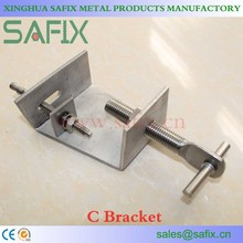 SS304/316L Stainless Steel Stone Cladding C Bracket/Anchor for marble fixing system