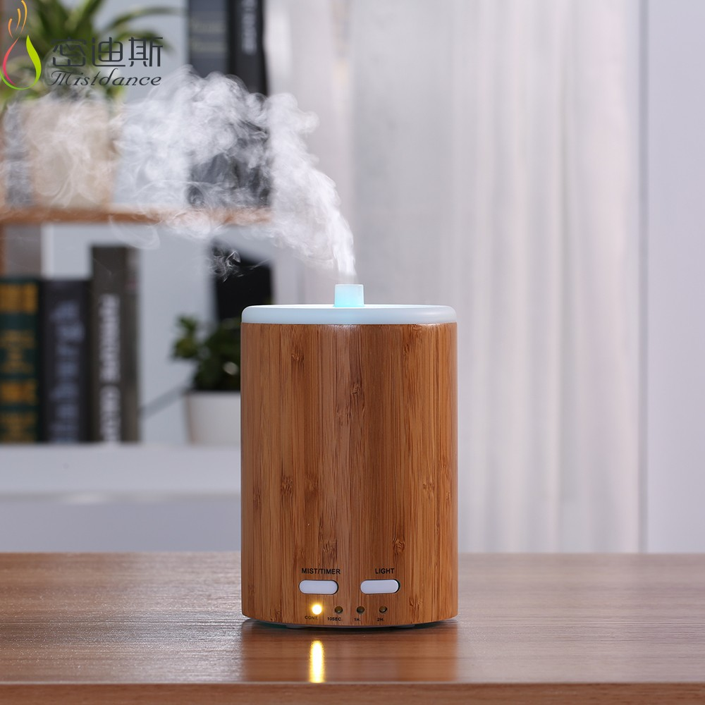 FOSHAN Original factory DIRECT supply natural bamboo ultrasonic essential oil diffuser for oil use