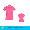 Popular Custom Design Golf Polo Shirt Slim Fitted Piped For Women