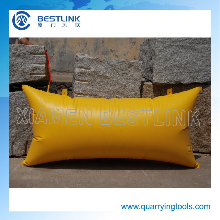 mining engineering tool polymer stone push bag for stone drill project