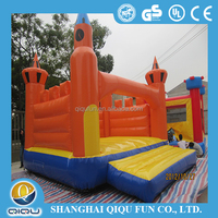 commercial pvc inflatable bouncer climbing slide, made in china giant inflatable slider for sale