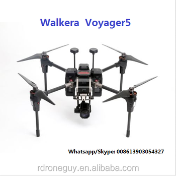 2018 New product professional quadcopter drone with thermal camera Walkera Voyager 5