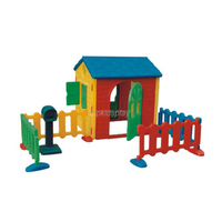 Playhouses for kids Play House Cartoon Style Cheap Plastic Kids Playhouse
