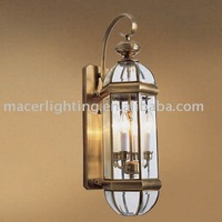 outdoor brass wall lamp, outdoor light, brass lamp in Royal Bronze finish
