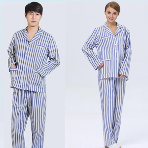 Priced direct 100%cotton disposable hospital gown
