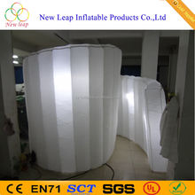 LED inflatable round photo booth trade show booth for outdoor