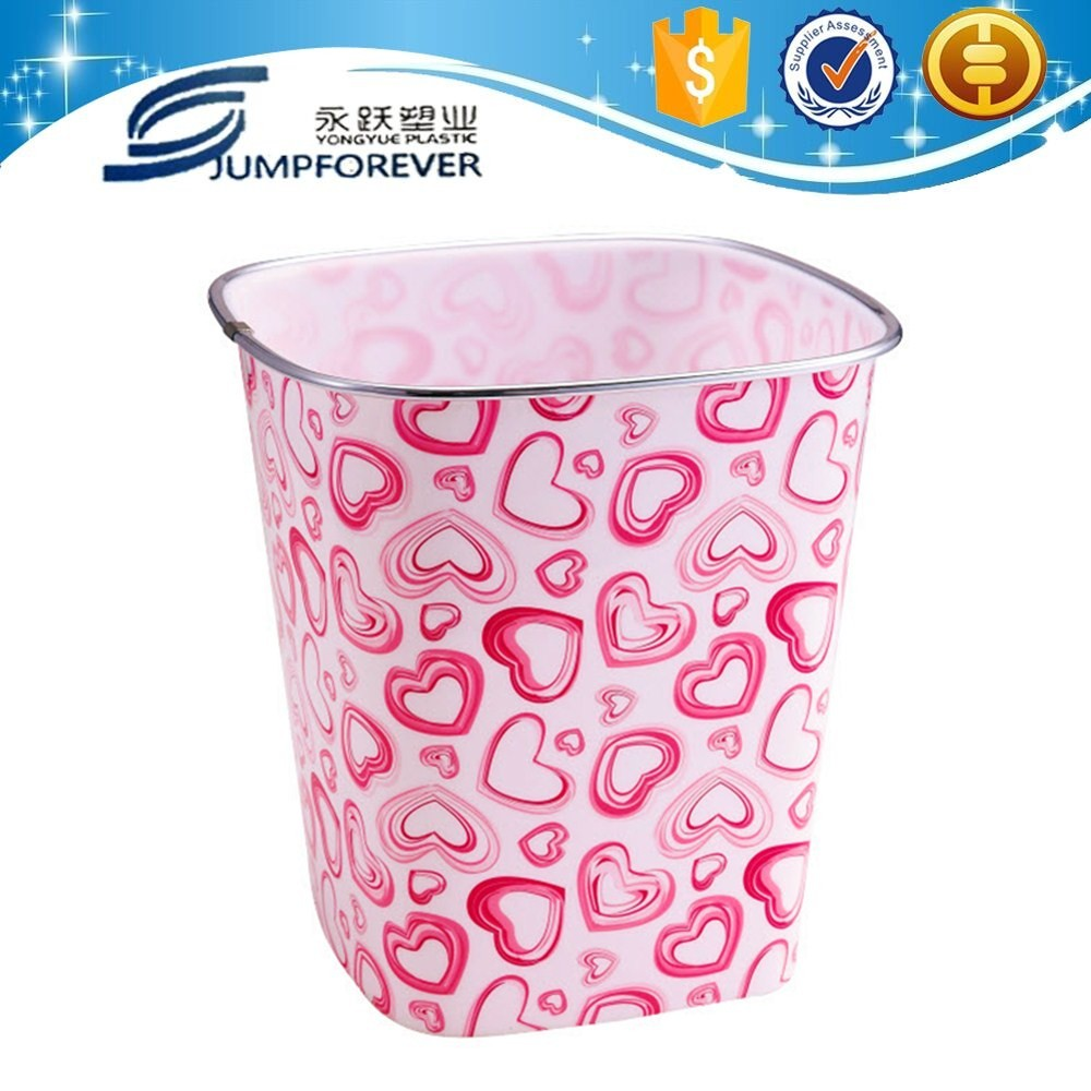 2016 sales and high quality household plastic trash can