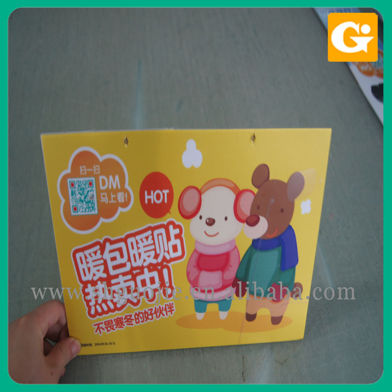 Number Plastic Poster Photo Display Board printing