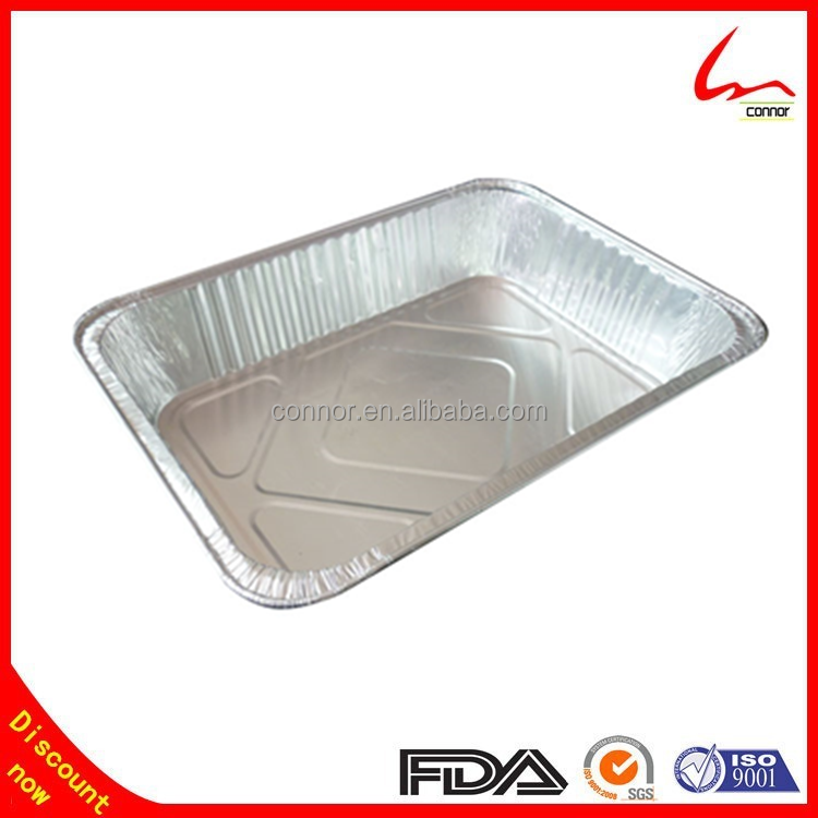Food Safety Grade China Suppliers YIWU Smoothwall Aluminum Foil Container / Tray