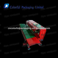 Export to Malaysia automatic impulse plastic film heat sealing machine/Continuous plastic bag sealer heat sealing machine