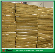 cheap cutting fire rated mineral rock wool insulation board with resin