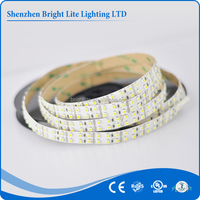2017 hot sale 3528 Nonwaterproof IP20 warm white color 240LED UL certificate 3528 warm white flexible smd led strip