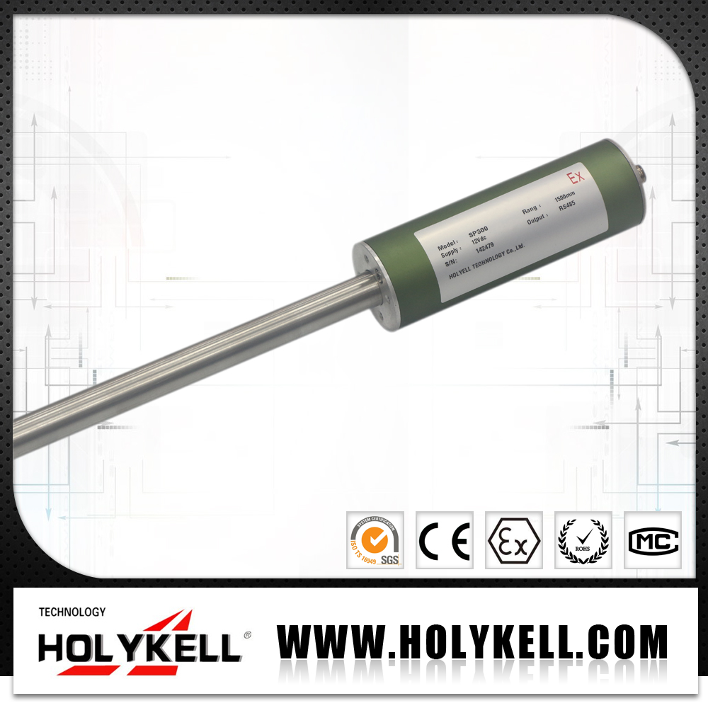 SP300 magnetostrictive fuel level probe with Automatic tank gauge system