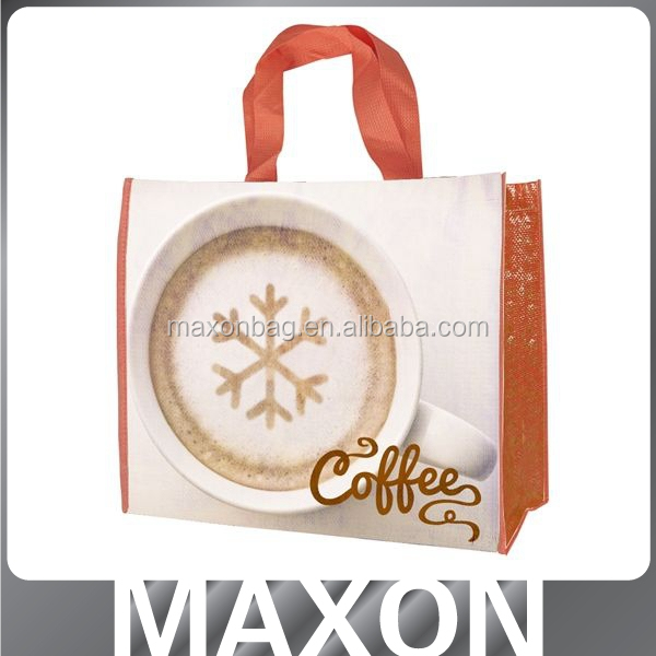 logo printed made in china recycled woven polypropylene shopping bags