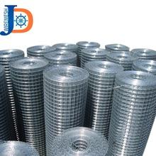 Professional factory 16 gauge hot dipped galvanized welded wire mesh with high quality