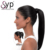 Brazilian Weave Human Hair Extensions Simple Drawstring Ponytail For Medium Sale Custom Packaging
