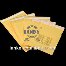 5x10 inch Self Adhensive Hot Yellow Kraft Bubble Envelope with Bubble Lining