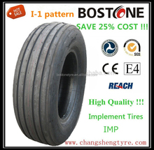 Cheap high quality agricultural tractor implement tyres 12.5L-15 with I-1 pattern