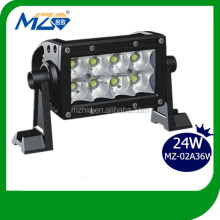 2014 Top Selling High Quality High Intensity 24W Cree Leds Light Bar Useful Auto Lamp LED Bulb Car Headlight for Off Road