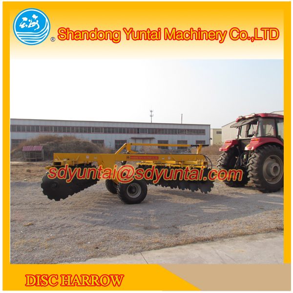China agriculture machinery hydraulic heavy duty disc harrow