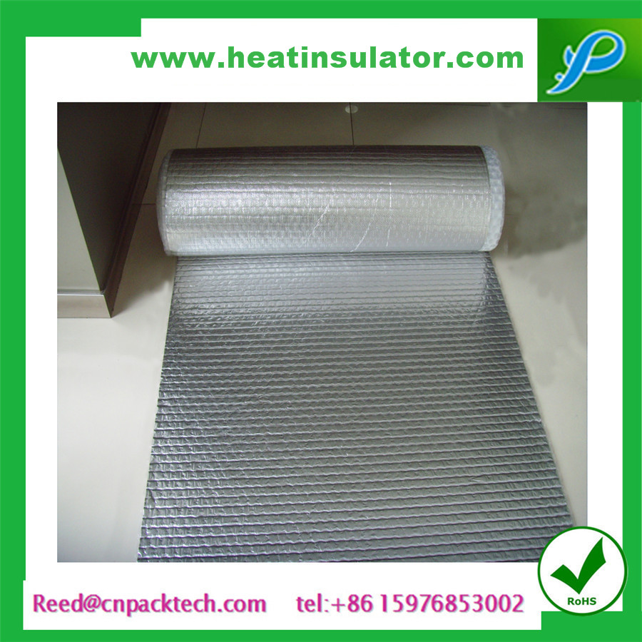 bubble foil insulation prevent heat radiant and moisture foil bubble roll
