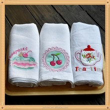 100% cotton tea towels wholesale , tea towels to embroider