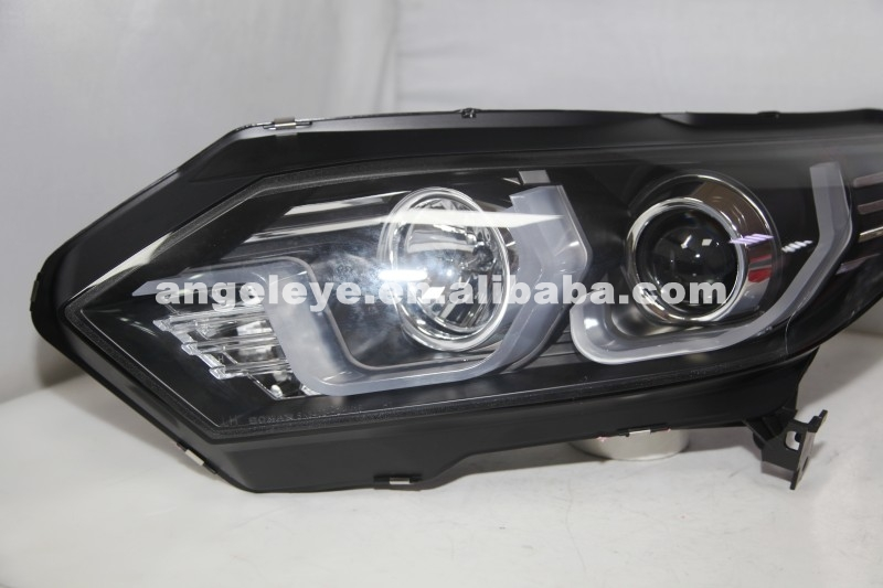 2016 Year For HONDA HRV HR-V Vezel LED Head Lamp SN black Housing SN
