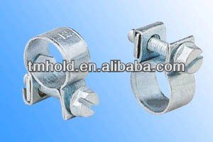 best tube zinc white steel fuel line injection pipe clamps clips