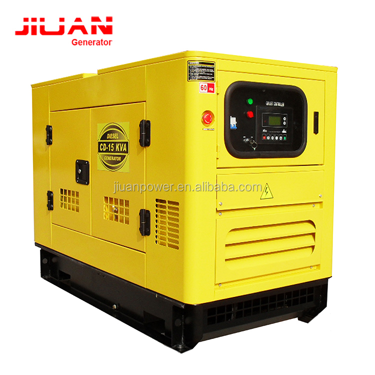 Gaungzhou power silent electric price diesel power 3 phase generator 30kva with transfer swicth