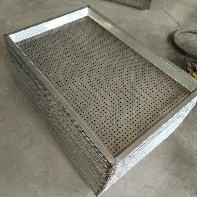 full size perforated sheet tray