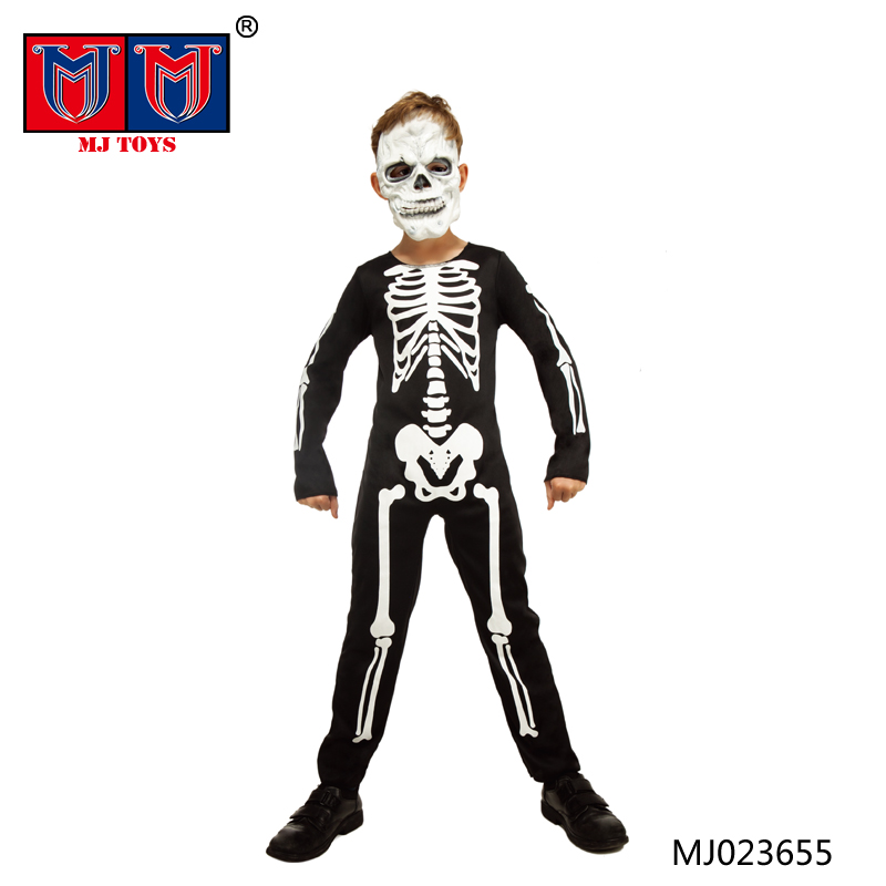 cheap party cloth Skeleton ghost halloween costumes china wholesale