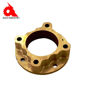 OEM service precision brass bronze metal lost wax casting