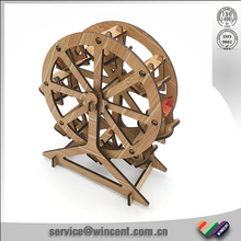 MDF Laser Cut Sky Wheel wood craft