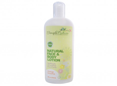 Simple Nature Natural Orange Smoothie Lotion