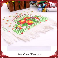 Baoman quick dry 100 cotton high quality printing Tea towel for Russia