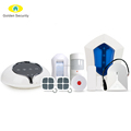 WIFI GSM Home Alarm System Support SIA+Contact ID Alarm Monitoring Station Smart Home Alarm System 2017